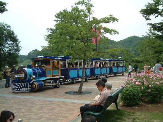 Hana Festa Memorial Park: 園内バスもあります