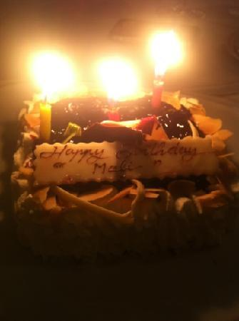 Rossini's: my lovely birthday cake
