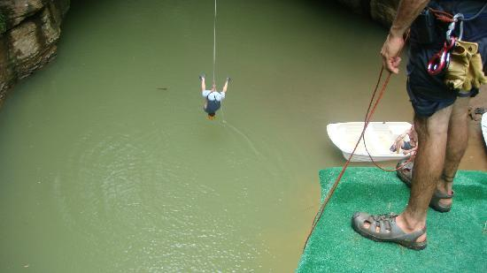 Batey Zipline Adventure: Roap Swing
