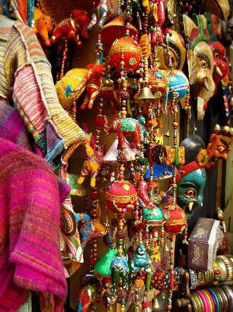 New Delhi, India: Market Place