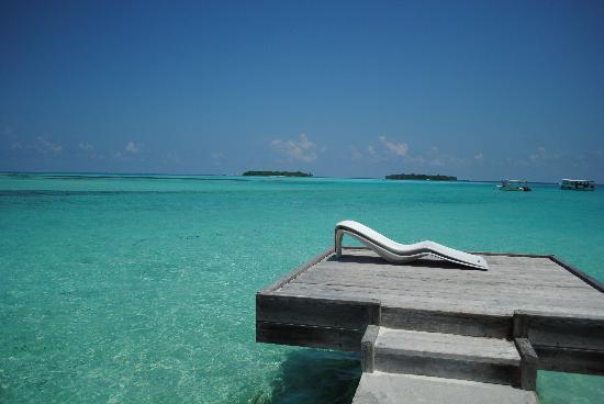 Holiday Inn Resort Kandooma Maldives : amazing water