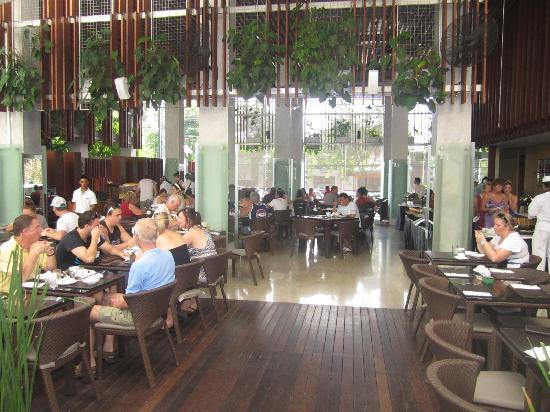 The Haven Bali: Front restaurant