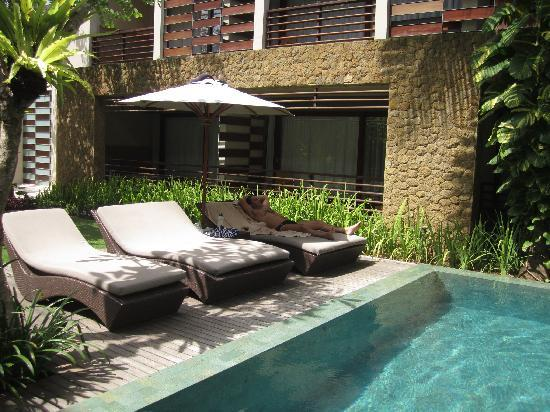 The Haven Bali: Back pool