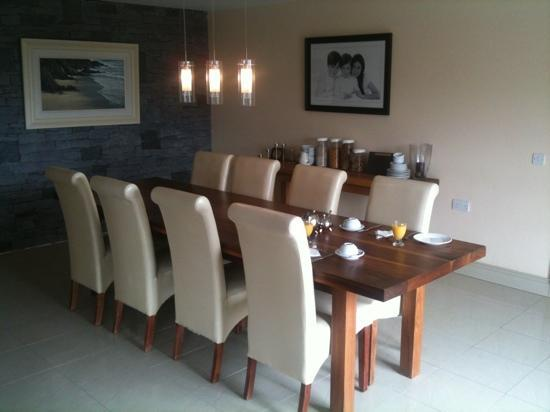 dining room at Portmagee Heights