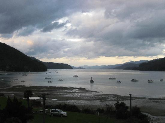 Tirimoana House: View from Pelorus room