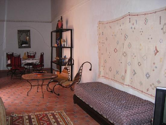 Riad La Perle de Marrakech: le salon