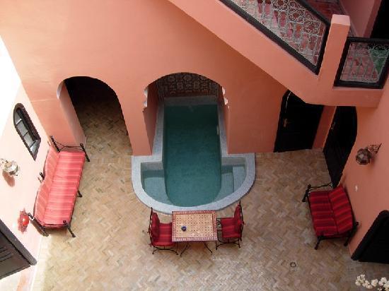 Riad La Perle de Marrakech: la piscine