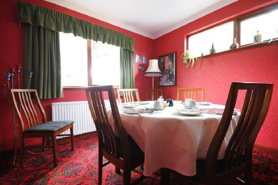 Creagview Bed & Breakfast: Dining Room