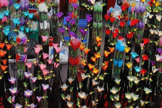 จังหวัดเชียงใหม่, ไทย: kleurrijke verlichting