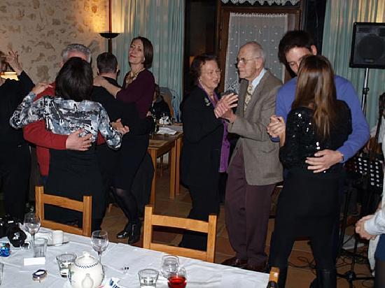 Mancioux, France : Dancing at Villa Noue