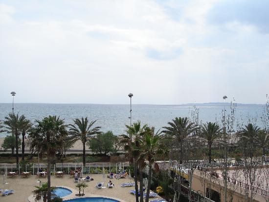 HSM Golden Playa: Aussicht Balkon