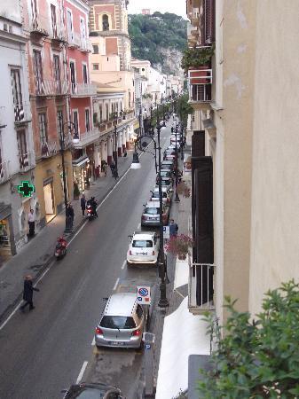 Palazzo Montefusco Sorrento: View from the balcony