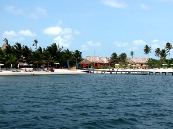 Matachica Resort & Spa: Matachica, a view from the dock