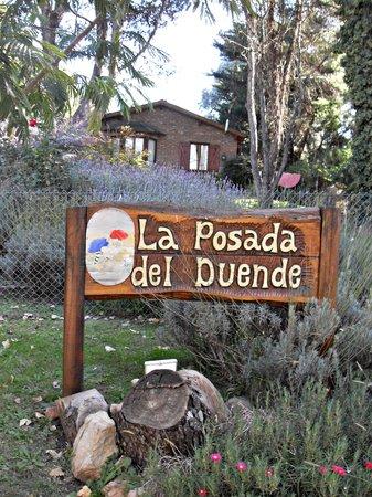 Villa Ventana, Argentina: Posada del Duende - la entrada
