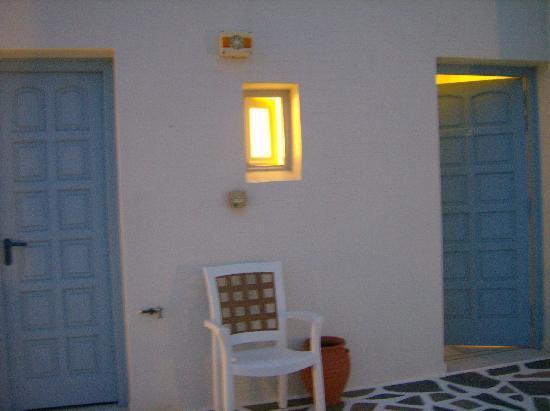 Irini Studios: l'ingresso della ns camera