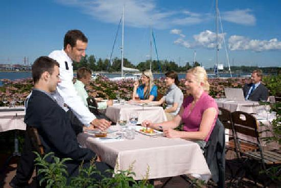 Dining in Helsinki