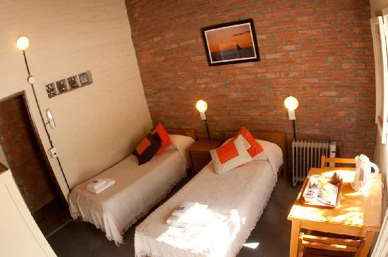 de Luna: Room with private bath and separate entrance, Overlooking the backyard.