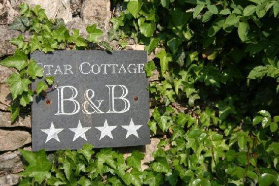 Star Cottage: Detalle a la entrada