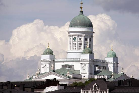 Ελσίνκι, Φινλανδία: Helsinki cathedral - symbol of the city