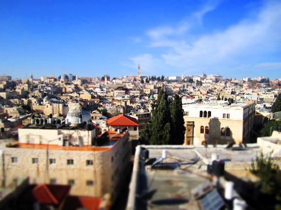 Ecce Homo Convent : A View from the top of Ecce Homo