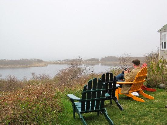 The Sea Breeze: A foggy day behind the Inn