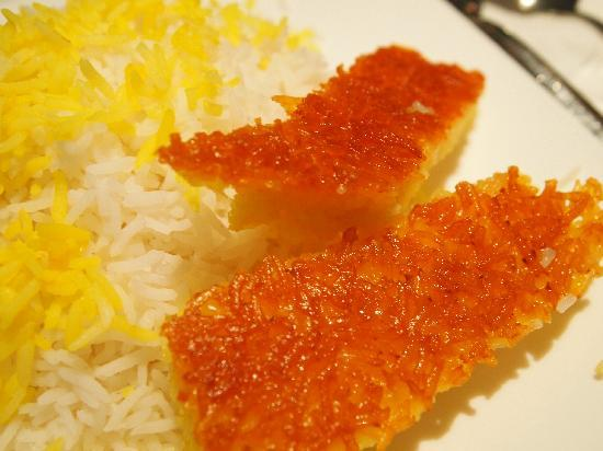 Alborz: Rice & Crispy Saffron 'Tadeek'