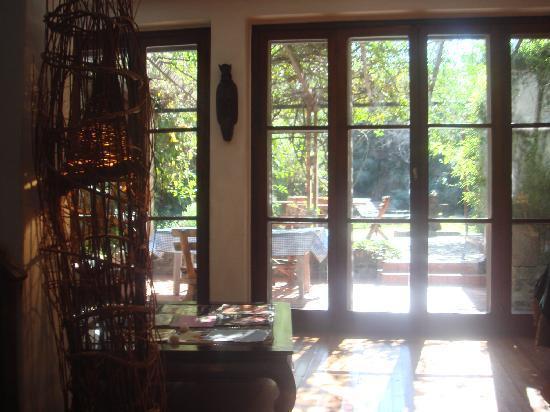 Jam Suites Boutique Hotel : vista hacia el jardin, super linda!