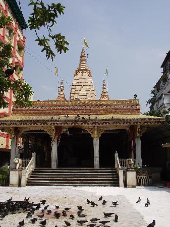 Mangalam Hotel: Laxmi Narayan temple (nice at night!)