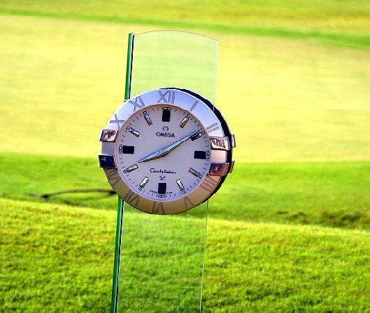 Eagleton The Golf Resort: The course-clock