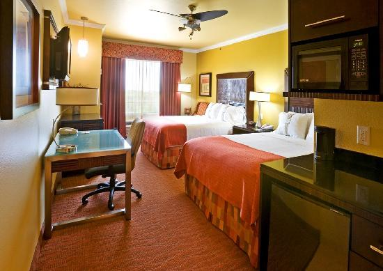 Holiday Inn Hotel & Suites McKinney - Fairview: Each Guest Room offers a flat screen TV, microwave, mini-refrigerator, ceiling fan, sofa sleeper