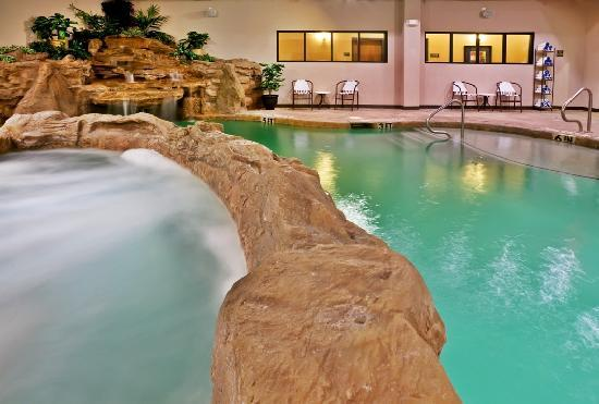 Holiday Inn Hotel & Suites McKinney - Fairview: Indoor Pool & Hot Tub
