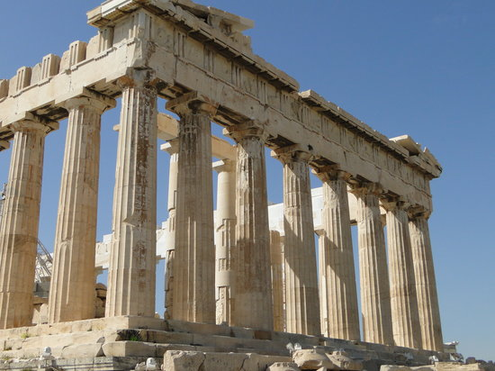 Athen, Griechenland: Acropolis up close