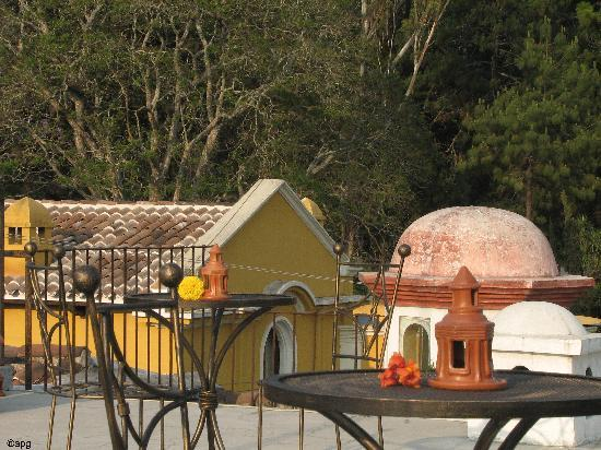 Hotel Tradiciones Antigua: terraza