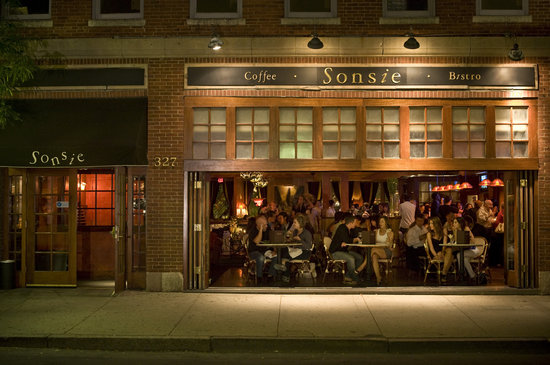 Photo of American Restaurant Sonsie at 327 Newbury St, Boston, MA 02115, United States