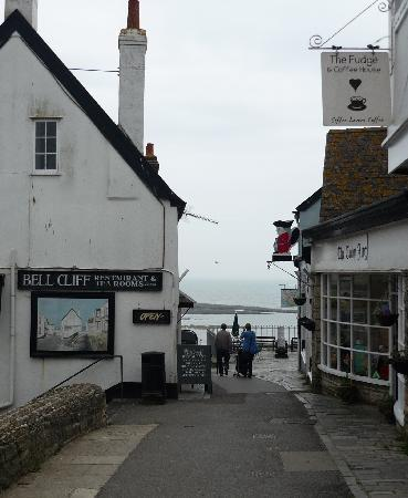The Bell Cliff Restaurant and Tea Rooms: View from the west