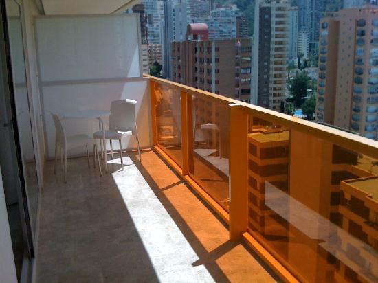 Dynastic Hotel: Balcony