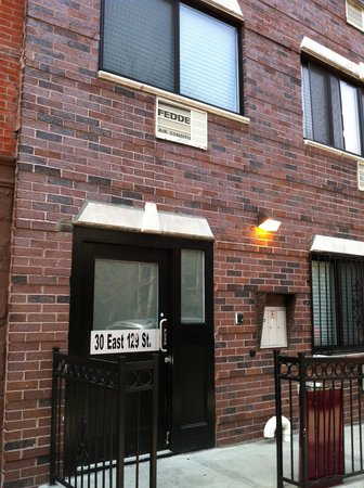 New York Hostel 99: Eingang
