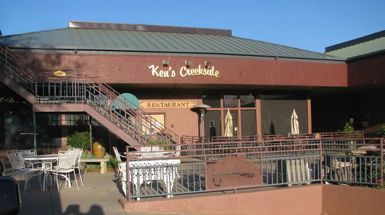 Creekside American Bistro : front of Kens Creekside