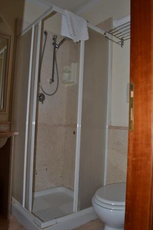 Hotel Invictus Roma : Baño habitacion individual 108