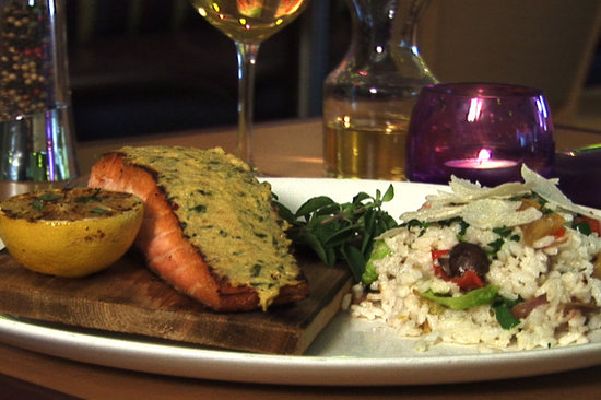 Market Grill Steak & Seafood: Cedar Roasted Salmon using only the freshest ingredients