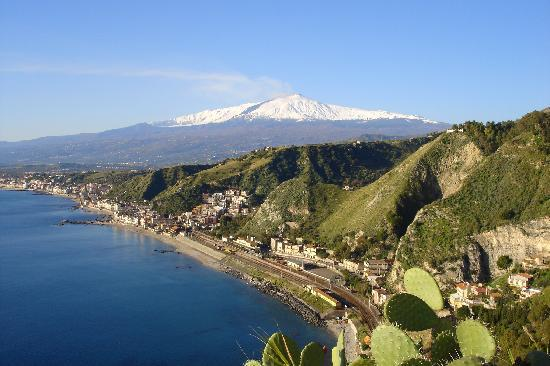Taormina's Odyssey Guest House and Hostel: panorama visibile a 100 metri dall'Ostello