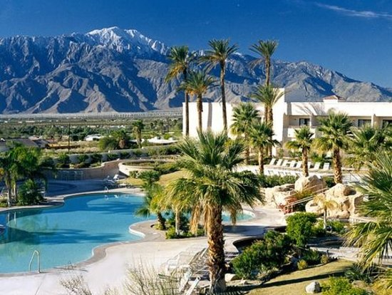 Desert Hot Springs, CA: The view from Miracle Springs
