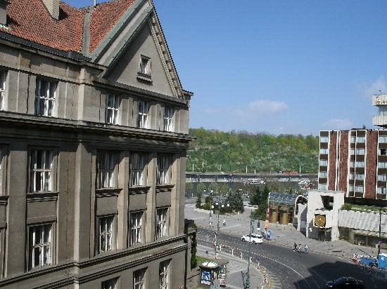 Residence Brehova - Prague City Apartments: View from the balcony in the front