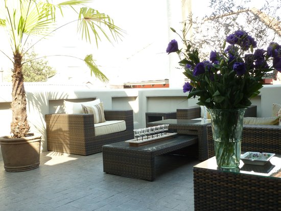 The Aubrey Boutique Hotel: Terrace