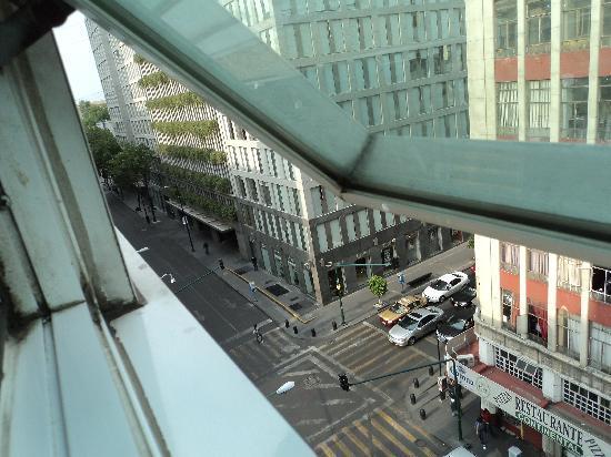 Hotel Monte Real: buena vista en los cuartos mas altos