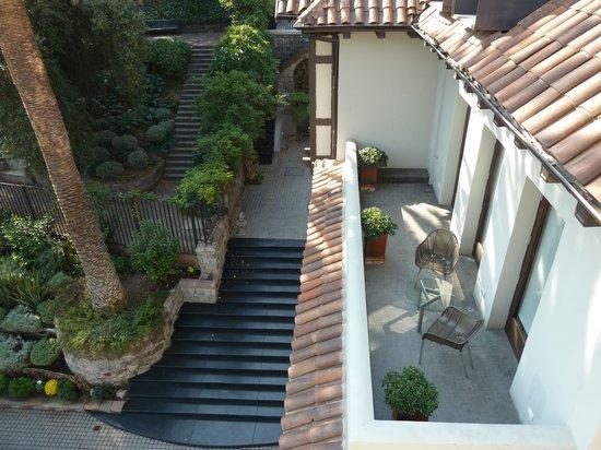 The Aubrey Boutique Hotel : Parque Metropolianto Bedroom Terrace