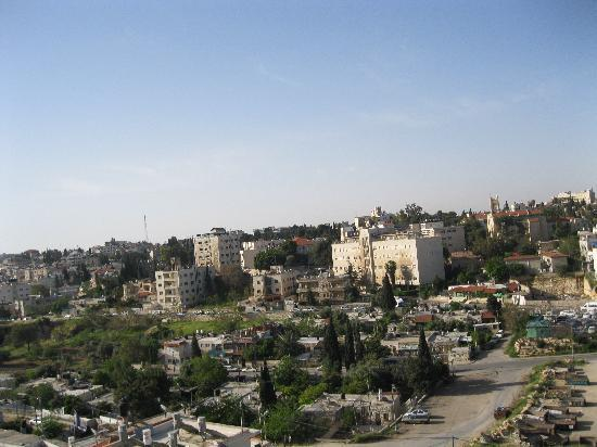 Mount Scopus Hotel: nice view to see Jerusalem