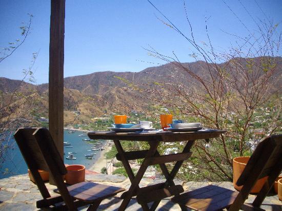 Hotel Cactus Taganga: EL DESAYUNO