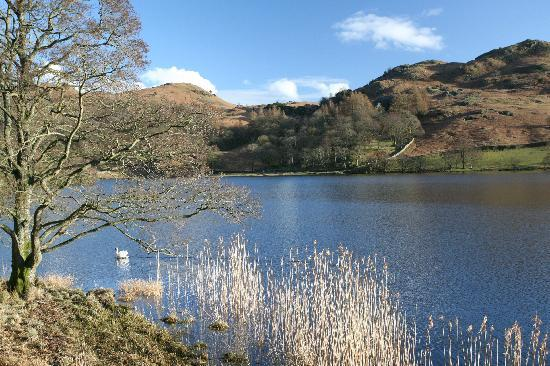 Nab Cottage: the view over Rydal