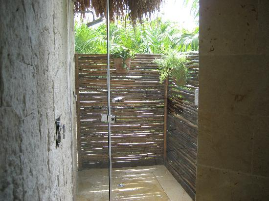 Outdoor Shower Picture Of Be Tulum Hotel Tripadvisor
